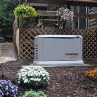 Generac, 11,000-Watt Automatic Standby Generator with 200-Amp SE Rated Transfer Switch, 6438 at The Home Depot - Mobile
