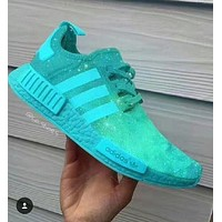 ADIDAS NMD Fashion Running Sneakers Sport Shoes Green