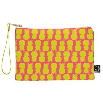 Allyson Johnson Neon Pineapples Pouch