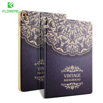 FLOVEME PU Leather Case For Apple i Pad 5 6 Air 1 2 Pro Mini Cover For i Pad Mini 1 2 3 4 Xiaomi Tablet Coque Flip Wallet Bag