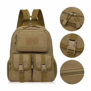 12L 2 Colors Camouflage Travel Backpack Outdoor Survival Backpack