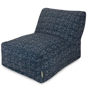 Navy Navajo Bean Bag Chair Lounger