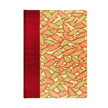 Graph Paper Sketchbook Autumn Leaves