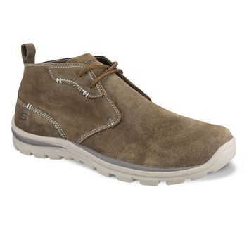 Relaxed Fit Up Word Men's Chukka Ankle Boots