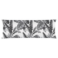 Retro Palms Body Pillow