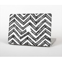 The Sketch Black Chevron Skin Set for the Apple MacBook Pro 15""