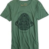 RVCA PROTECT YOUR CHAKRA SS TEE | Swell.com