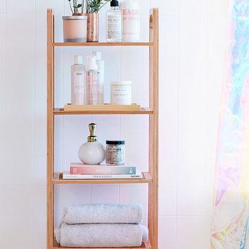 Bamboo Tiered Shelf | Urban Outfitters