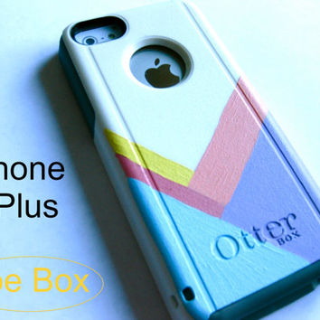 OTTERBOX iphone 6plus case, case cover iphone6plus otterbox ,iphone otterbox case,custom otterbox iPhone , otterbox, cheveron otterbox case