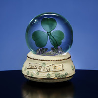 Irish Shamrock - Water Globe