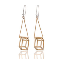 Pico: Cube Earrings, at 22% off!