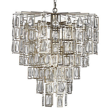 Valentina Chandelier | Luxe Dining1 | Dining Room | Inspiration | Z Gallerie