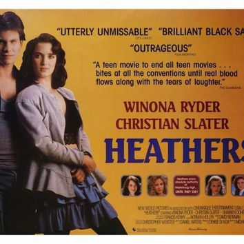 Heathers 27x40 Movie Poster (1989)
