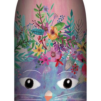Fancy Cat Insulated Stainless Steel Large Water Bottle