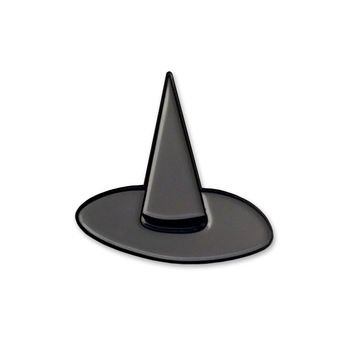 Sara M. Lyons Witch Hat Enamel Pin