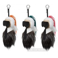 Indie Designs Fendi Style Fur Karlito Charms