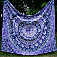 Beach towel Indian Mandala Tapestry Hippie Wall Hanging Tapestries Boho Bedspread Yoga Mat Blanket Table Cloth