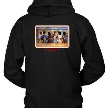 DCCKG72 Pink Floyd Back Catalogue Retro Design Hoodie Two Sided