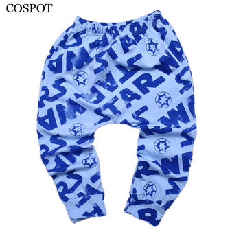 COSPOT Baby Boys Girls Autumn Harem Pants Boy Leggings Newborn Cotton Long Pants Infant Fashion Trousers 2017 New Arrival 35C