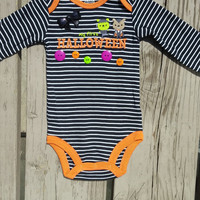 My First Halloween Onesuit - Long Sleeve - Baby Girl - Baby Boy - Onesuit - Fall - 2014