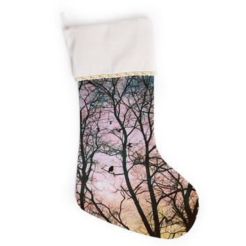 "Sylvia Cook ""The Birds"" Christmas Stocking"