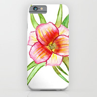 tropical flora 2 iPhone & iPod Case by Jenn Ross76