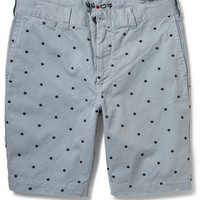 NN.07 - Florence Dot-Embroidered Cotton Shorts | MR PORTER