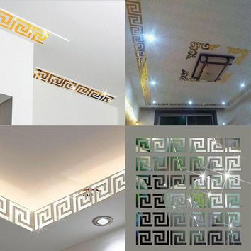10 pcs. Labyrinth Border Wall Decal Stickers