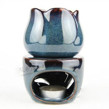 Over sized Water Dish Ceramic Oil Warmer