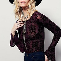 Free People Womens Gala Top