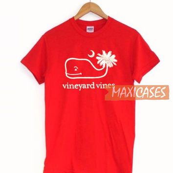 Vineyard Vines Red T Shirt Women Men And Youth Size S to 3XL