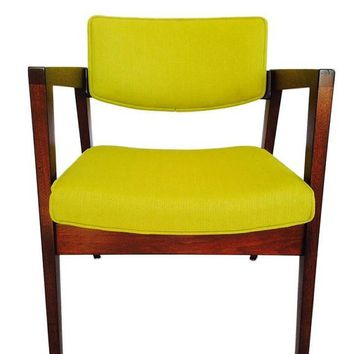 Vintage Mid Century Gunlocke chair (set of 4)