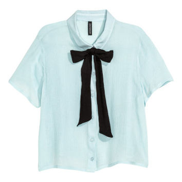 H&M Blouse with Bow $14.99