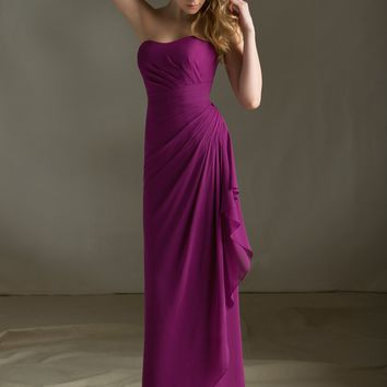 Chiffon Bridesmaid Dress with Keyhole Coverlet | Style 683 | Morilee