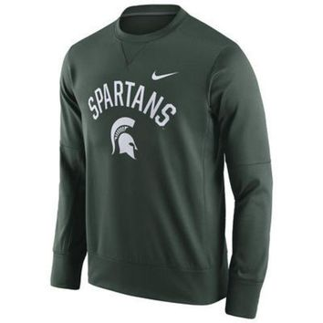 ONETOW NCAA Michigan State Spartans Circuit Crew Neck Sweatshirt