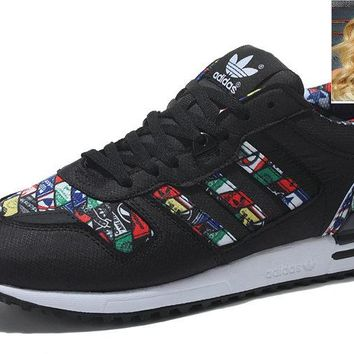New Arrival 2018 G27068 Adidas ZX 700 Black shoes