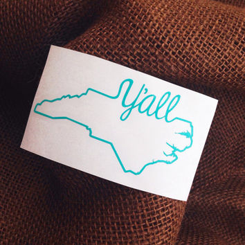 Best State Monogram Decal Products On Wanelo