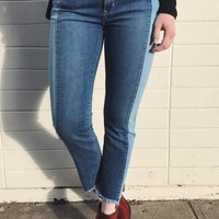 West Coast Two Toned Jean