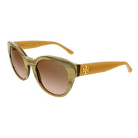 Tory Burch Coconut Round Sunglasses