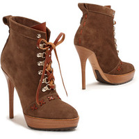 Vicky Suede Bootie