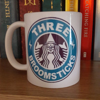 Three Broomsticks Coffee Mug *Harry Potter Mug*