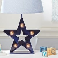 Marquee Star Complete Lamp | Pottery Barn Kids