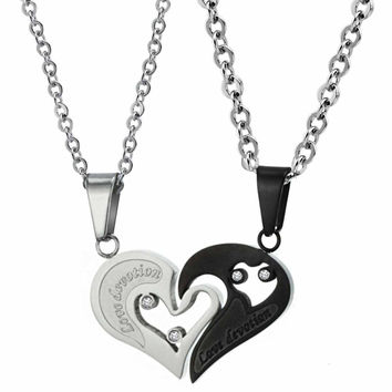 Love Devotion Heart Necklace