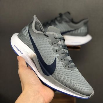 HCXX 19June 969 Nike Air Zoom Structure 36 Ice mesh face breathable casual running shoes grey