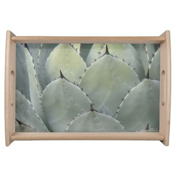 Prickly Succulent Plant Serving Tray