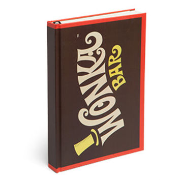 Willy Wonka Bar Journal - Exclusive