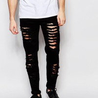 Other UK | Other UK Skinny Jeans With Distressing at ASOS