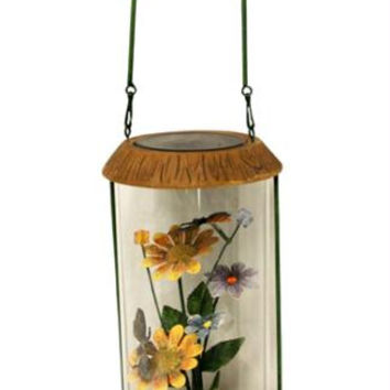 Solar Powered Outdoor Garden Lantern - Led Lighted