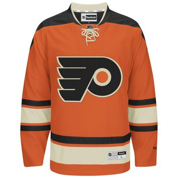 Philadelphia Flyers Reebok Premier Replica Alternate NHL Hockey Jersey