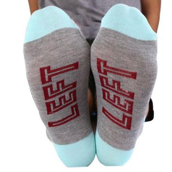 DCCK2JE Letters Socks Unisex If You can read this Bring Me a Glass of Wine Men Women Sock by Fenta